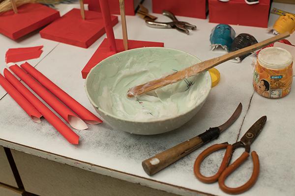 簡單的工具和材料紮糊出不簡單的藝術