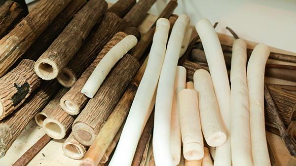 蓪草髓心是很好的天然環保材料