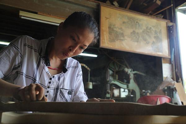 黃裕凰相信女性的細膩是與男匠師最大差異